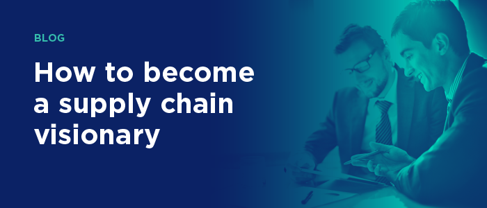 Blog banner - Supply chain leader of the future